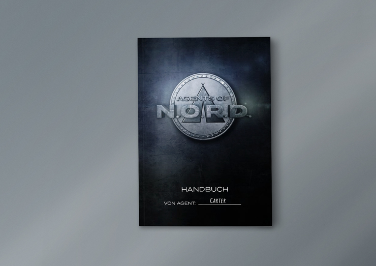 Agents of NORD Cover Lagerliederbuch